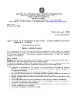 Bando tutor interni VIP - Liceo Scientifico Statale Vito Volterra