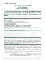 Foglio informativo n. 414/001. Carta Prepagata. Carta TIM