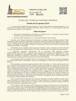 Forania di Belluno Diocesi Belluno Feltre presidente mons. Rinaldo