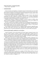 Secolo XVI: Firenze – Il nome dei germini Franco Pratesi – 06.09
