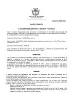 Avviso pubblico - Comune di Alghero