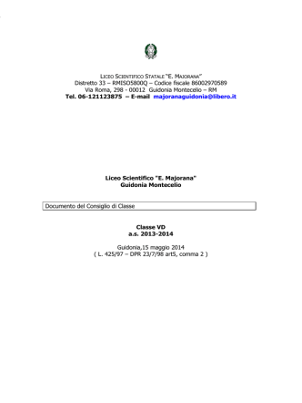 00012 Guidonia Montecelio – RM Tel. 06-121123875