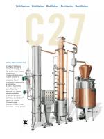 Distillazione Distillation Distillation Destilación Destillation