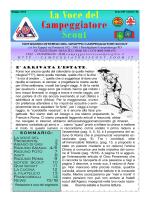 notiziario 41 - GRUPPO CAMPEGGIATORI SCOUT