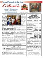 SS. MESSE XXX^ Domenica del Tempo Ordinario Apostolato della