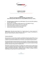 CS Risultati 30 settembre 2014