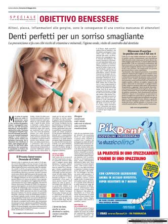 Corriere della Sera SALUTE 25 Maggio 2014