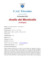 C.A.I. Tricesimo Anello del Monticello