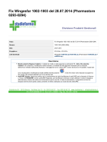 Fix Wingesfar 1002-1003 del 28.07.2014 (Pharmastore 0293