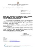 pubblicazione graduatorie provvisorie 3 fascia ata