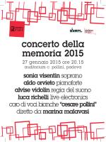 concerto della memoria 2015 - PadovaCultura