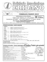 Sfoglia Notiziario n.90 - associazione culturale eridano