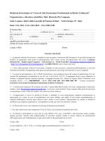 scarica domanda - Formazione Riccardo Campana