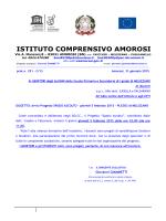 """"""" Spazio Ascolto"""" plesso di Melizzano a.s. 2014-2015."""