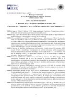 Bando - CAFIS - Università degli Studi Roma Tre