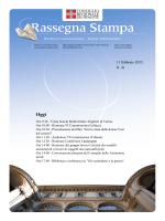 la stampa - Consiglio Regionale del Piemonte