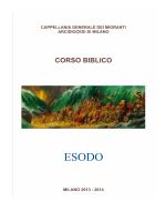 Introduzione all`Esodo - Cappellania generale dei Migranti Milano