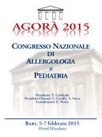 agora` - congresso nazionale di allergologia e pediatria