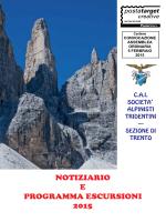 Scarica Notiziario e Programma escursioni 2015 - sat