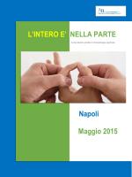 Napoli Maggio 2015 L`INTERO E` NELLA PARTE