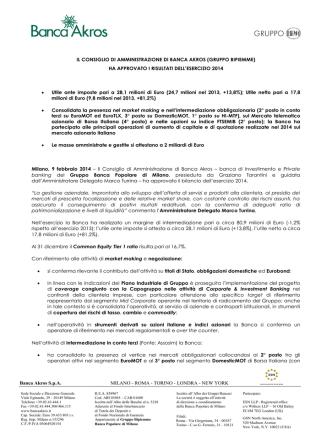 Comunicato Stampa (PDF 0.2 MB)