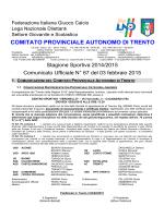 Comunicato n. 67