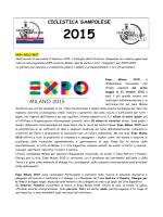 EXPO Milano 2015 - Ciclistica Sampolese