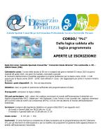 """CORSO/ """"PLC"""" - Azienda Speciale Consortile Consorzio Desio"""