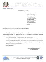 "circolare n. 251 - isis ""giulio natta"""