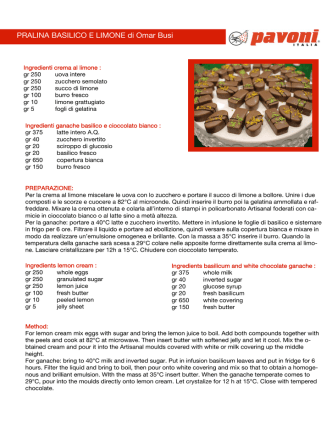 Clicca qui per scaricare 3 fantastiche ricette di Omar Busi!