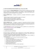 carta dei servizi Fulmine V3 Consorziati