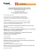 L`internazionalizzazione della ricerca storico-educativa 3