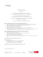 COMUNICATO STAMPA ELICA S.p.A. IL CONSIGLIO DI