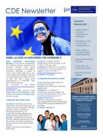 CDE Newsletter - Università degli Studi di Ferrara