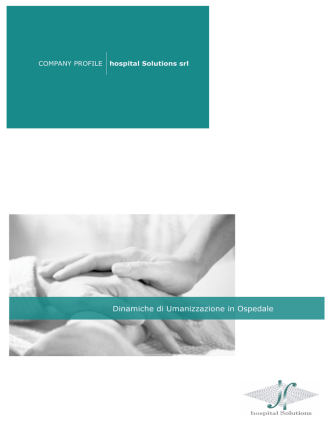 Company Profile - hospital Solutions srl