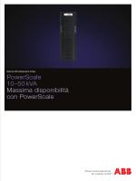 PowerScale 10–50 kVA Massima disponibilità con PowerScale