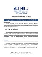 25 2015 ARTIGIANI E COMMERCIANTI ALIQUOTE CONTRIBUTIVE