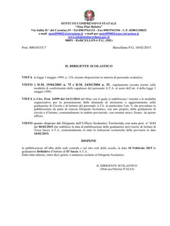 Decreto in PDF