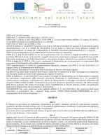 DECRETA Art. 1 Art. 2 - Università degli Studi di Napoli Federico II