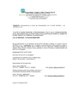 Avviso avvio procedimento Risanamento Opere Murazzano