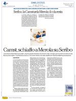 nd Lettori: nd Dir. Resp.: Ezio Mauro Servizi di Media Monitoring