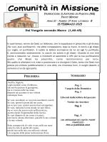 15 FEBBRAIO 2015 - Parrocchia s. Antonio di Padova