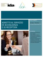 addetto all`accoglienza/reception