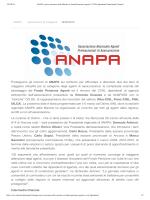 Proseguono gli incontri di ANAPA sul territorio per affrontare e