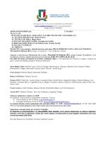 Convocazione Interno - 25/02 Firenze Cavallaccio