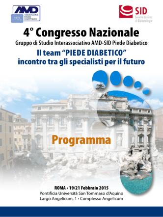 4° Congresso Nazionale Programma
