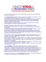 Relazione del Prof. Toso - Associazione Back School