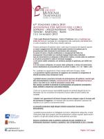 Luglio Audizioni coro 2015 - Luglio Musicale Trapanese