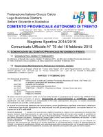 Comunicato n. 75