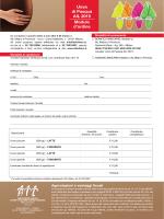 Uova di Pasqua AIL 2015 Modulo d`ordine